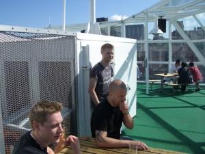 Fredrik, Krille, och Henrik